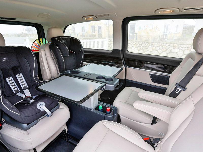 Die mercedes benz v klasse bei ihrem mercedes benz for Mercedes s klasse interieur