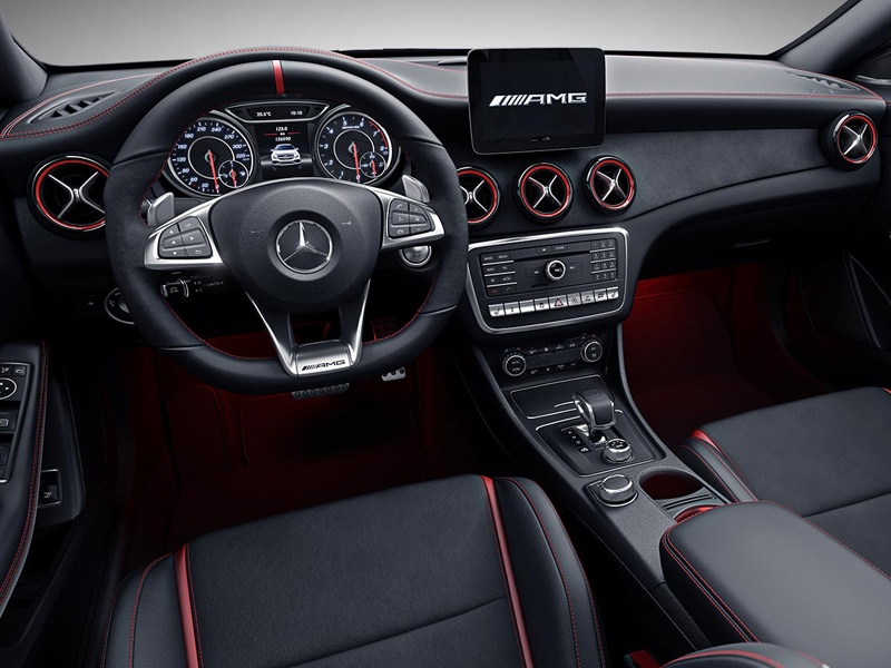 mercedes benz cla 45 amg 4matic coup bei rosier. Black Bedroom Furniture Sets. Home Design Ideas