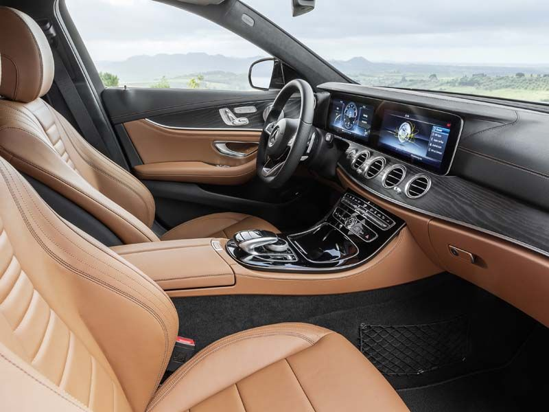 Das neue e klasse t modell bei ihrem mercedes benz for Classe e interieur 2016