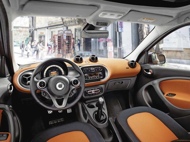 Der smart fortfour jetzt bei ihrem autohaus rosier in for Interieur smart 2000