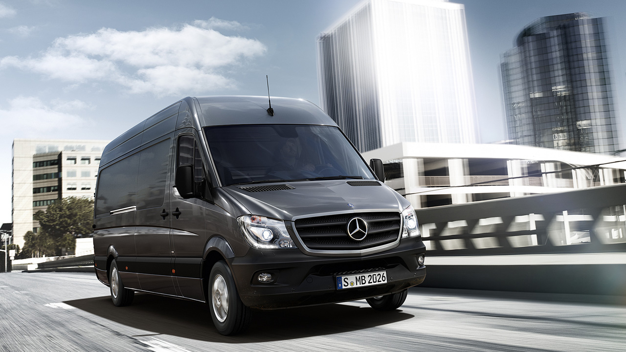 Der sprinter kastenwagen bei ihrem mercedes benz partner for Mercedes benz sprinter 2014