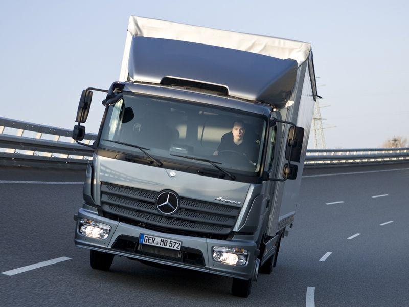 Mercedes benz atego 1224 - bedf