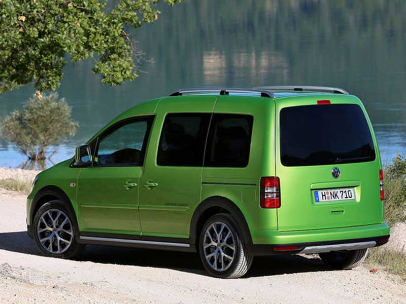 der volkswagen cross caddy bei rosier. Black Bedroom Furniture Sets. Home Design Ideas