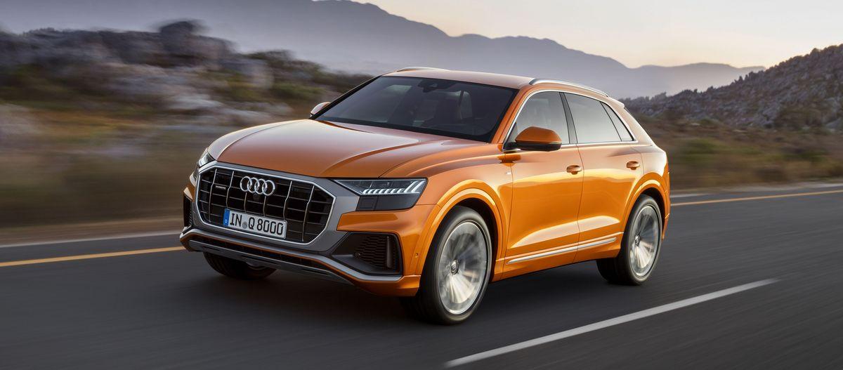 Der Neue Audi Q8 Bei Rosier